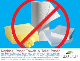 Paper Towels & Napkins :(