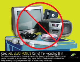 What to do with Electronics?