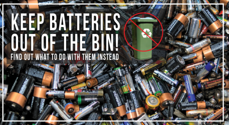 Batteries - Not in the Bin