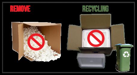 Styrofoam: In a box?