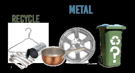 Scrap Metal? Not in the Bin!