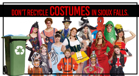 Costumes, Masks, Fabric - NOT IN THE BIN!