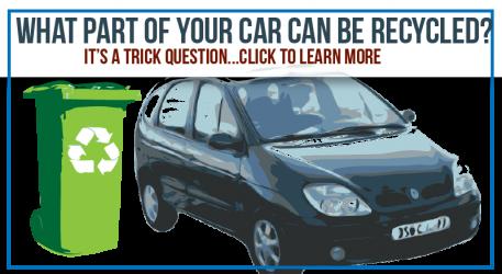 Car Parts Don't Belong In the Bin