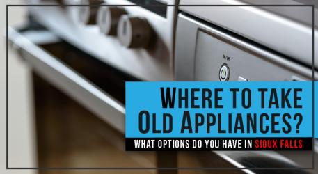 Where to take Appliances (HINT: NOT MILLENNIUM)