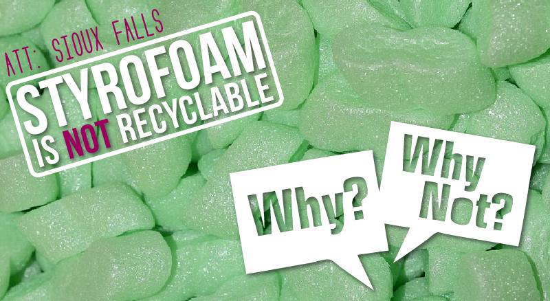Millennium Recycling Styrofoam Is Always A No